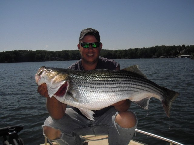 Pictures from fishing charters with captain travis patsell for Lake travis fishing report